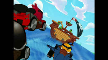 Angry Birds Go! Jenga Pirate Pig Attack TV Spot, 'Cannon' - Thumbnail 6