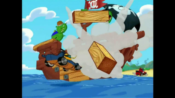Angry Birds Go! Jenga Pirate Pig Attack TV Spot, 'Cannon' - Thumbnail 7