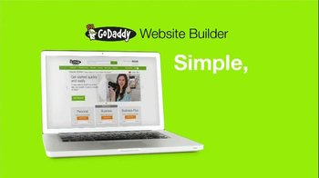 Go Daddy Website Builder TV Spot, 'Business' Song by RAC - Thumbnail 3