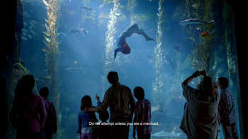 Disney Parks TV Spot, 'Disney Side: Under the Sea' - 1555 commercial airings