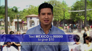 American Red Cross TV Spot Featuring Mario Lopez