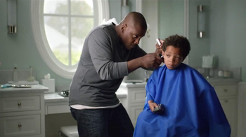 AT&T U-Verse Wireless Receiver TV Spot, 'Haircut' - Thumbnail 1