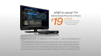 AT&T U-Verse Wireless Receiver TV Spot, 'Haircut' - Thumbnail 10