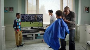AT&T U-Verse Wireless Receiver TV Spot, 'Haircut' - Thumbnail 2