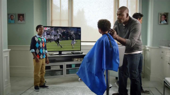 AT&T U-Verse Wireless Receiver TV Spot, 'Haircut' - Thumbnail 3