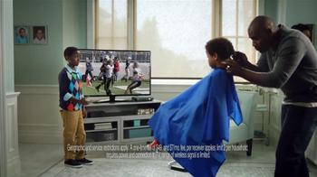 AT&T U-Verse Wireless Receiver TV Spot, 'Haircut' - Thumbnail 7