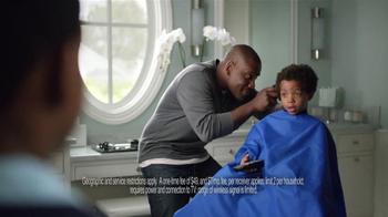AT&T U-Verse Wireless Receiver TV Spot, 'Haircut' - Thumbnail 9