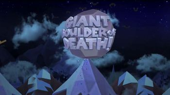 Giant Boulder of Death TV Spot, 'Halloween Boulders'