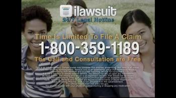iLawsuit Legal Hotline TV Spot, 'Yaz' - Thumbnail 9