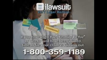 iLawsuit Legal Hotline TV Spot, 'Yaz' - Thumbnail 7