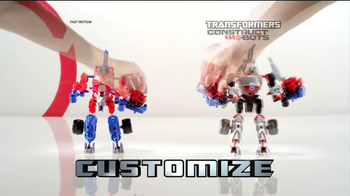Transformers Construct Bots Ultimate Set TV Spot