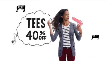 Old Navy Fall Fashion Sale TV Spot, '40% Off' Song by The Angels