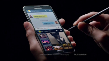 Samsung Galaxy Note III TV Spot, 'Redefining Mobile' - Thumbnail 3