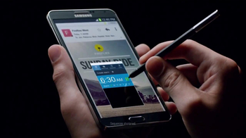 Samsung Galaxy Note III TV Spot, 'Redefining Mobile' - Thumbnail 7