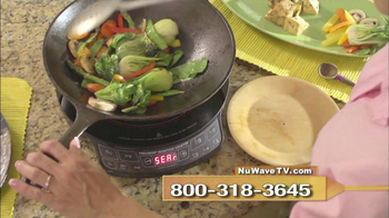 NuWave Induction Cook Top TV Spot