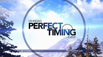 Hyundai Perfect Timing Event TV Spot, 'Auto Show Bonus Cash' - Thumbnail 3