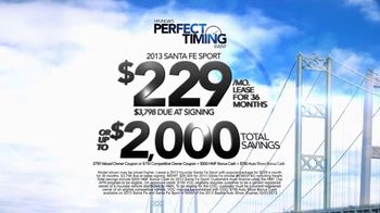 Hyundai Perfect Timing Event TV Spot, 'Auto Show Bonus Cash' - Thumbnail 9