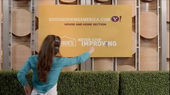 Lowe's TV Spot, 'ABC: Good Morning' - Thumbnail 10