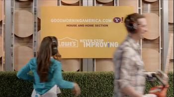 Lowe's TV Spot, 'ABC: Good Morning' - Thumbnail 9