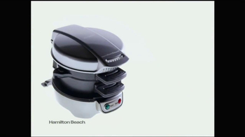 Hamilton Beach Breakfast Sandwich Maker TV Spot - Thumbnail 3