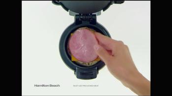 Hamilton Beach Breakfast Sandwich Maker TV Spot - Thumbnail 4