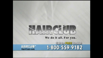 Hair Club TV Spot, 'We Do it All' - Thumbnail 10