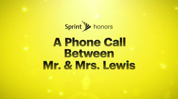Sprint Unlimited, My Way TV Spot, 'A Phone Call Between Mr. & Mrs. Lewis' - Thumbnail 1