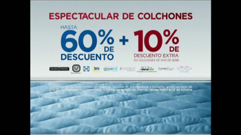 Sears Espectacular de Colchones de Columbus Day TV Spot [Spanish] - Thumbnail 4