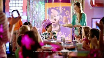 Chuck E. Cheese's TV Spot, 'Cumpleaños' [Spanish]