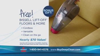 Bissell DeepClean Lift-Off Pet Carpet Cleaner TV Spot - Thumbnail 9
