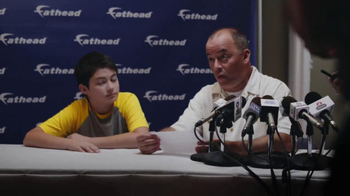 Fathead Sport Wall Murals TV Spot, 'Press Conference'