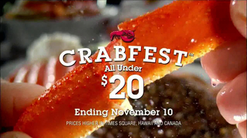 Red Lobster Crabfest TV Spot, 'Almost Over' - Thumbnail 1