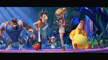 MovieTickets.com App TV Spot, 'Cloudy with a Chance of Meatballs 2' - Thumbnail 6