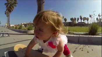 GoPro HERO3 TV Spot, 'Skateboarding Baby' Song by Eternal Summers - Thumbnail 10