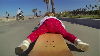 GoPro HERO3 TV Spot, 'Skateboarding Baby' Song by Eternal Summers - Thumbnail 4