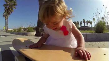 GoPro HERO3 TV Spot, 'Skateboarding Baby' Song by Eternal Summers - Thumbnail 9