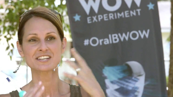 Oral-B TV Deep Sweep Spot, 'The WOW Experiment'