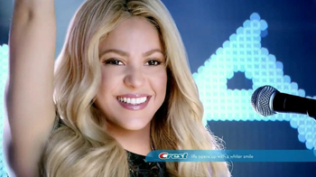 Crest 3D 1-Hour Express White Strips TV Spot Featuring Shakira