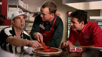 Papa John's TV Spot, 'Referee' Featuring Peyton Manning - 1000 commercial airings