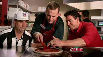 Papa John's TV Spot, 'Referee' Featuring Peyton Manning - Thumbnail 1