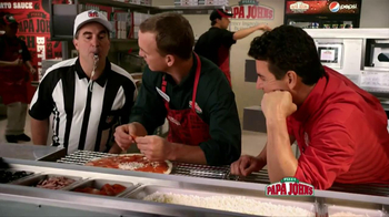 Papa John's TV Spot, 'Referee' Featuring Peyton Manning - Thumbnail 3