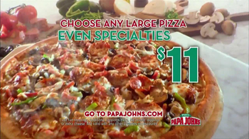 Papa John's TV Spot, 'Referee' Featuring Peyton Manning - Thumbnail 5