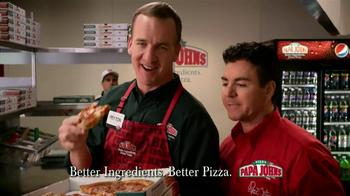 Papa John's TV Spot, 'Referee' Featuring Peyton Manning - Thumbnail 8