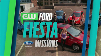 Ford TV Spot, 'The CW: Ford Fiesta Missions' - 17 commercial airings