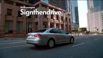 Volkswagen Sign Then Drive Event TV Spot, 'A Better Car' - Thumbnail 3