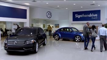 Volkswagen Sign Then Drive Event TV Spot, 'A Better Car' - Thumbnail 8