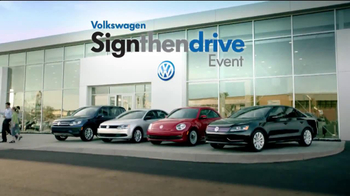 Volkswagen Sign Then Drive Event TV Spot, 'A Better Car'