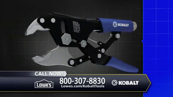 Kobalt Magnum Grip Locking Pliers TV Spot - Thumbnail 10