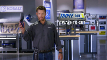 Kobalt Tools Triple Cut TV Spot