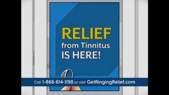 Ringing Relief TV Spot - 108 commercial airings